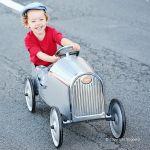 Baghera Pedal Car Legend Silver
