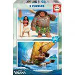 Educa Puzzle 2x100 Peças - Vaiana - 07052