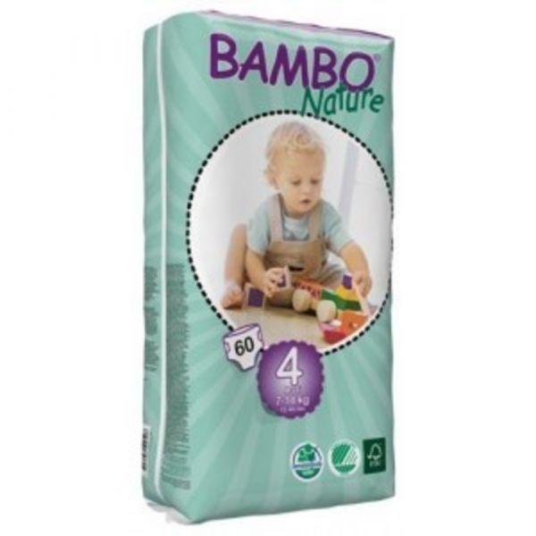 Bambo Nature Fraldas Maxi 7-18Kg x60