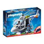 Playmobil City Action - Helicóptero da Polícia com Luzes LED - 6921