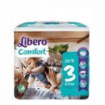 Libero Comfort Tamanho 3 5-9Kg 30 Fraldas Pack de 6
