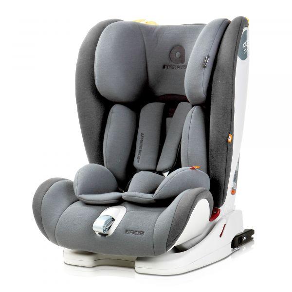 Apramo Cadeira Auto Eros Isofix 1-2-3 Morecambe Grey