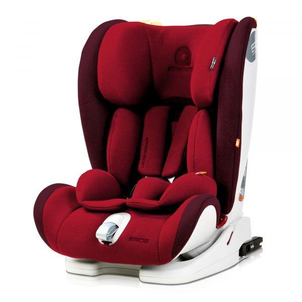 Apramo Cadeira Auto Eros Isofix 1-2-3 Liverpool Red