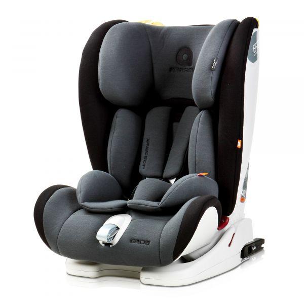Apramo Cadeira Auto Eros Isofix 1-2-3 Sunderland Black