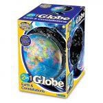 Sigtoys Globo Iluminado 2 em 1: Terra e Constelações