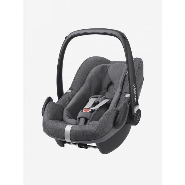 Cadeira Auto Bébé Confort Pebble Plus 0+ Nomad Grey