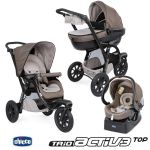 Conjunto Trio Chicco Activ3 Top Dove Grey