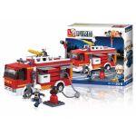 Sluban Fire Alarm Camião Cisterna 345 Peças - SL0626