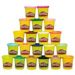Play-Doh Pack Super Cores 20 Potes - A7924