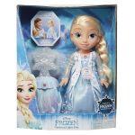 Concentra Frozen - Boneca Luzes Mágicas