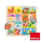 Goula Puzzle A Minha Comida Favorita - 53041