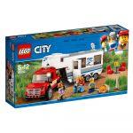 LEGO City - Pick-up & Caravana - 60182