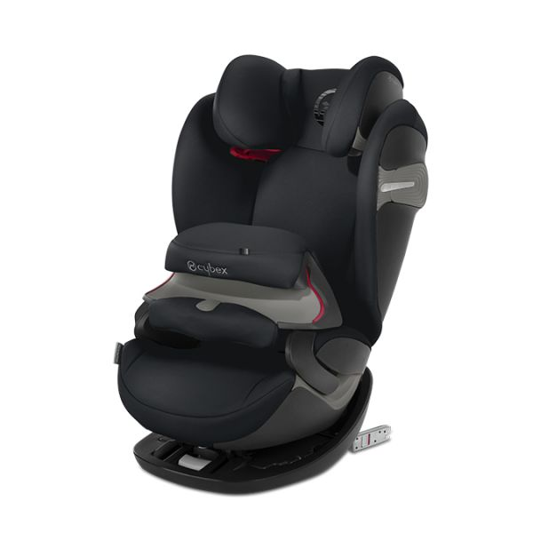 Cybex Cadeira Auto Pallas S-Fix Isofix 1-2-3 Lavastone Black