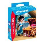 Playmobil Special Plus - Pirata com Tesouro - 9087