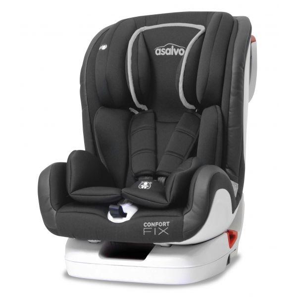 Asalvo Cadeira Auto Confort Fix Isofix 1-2-3 Grey