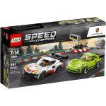 LEGO Speed Champions - Porsche 911 RSR e 911 Turbo 3.0 - 75888