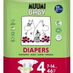 Muumi Baby T4 7-14Kg 46 Fraldas