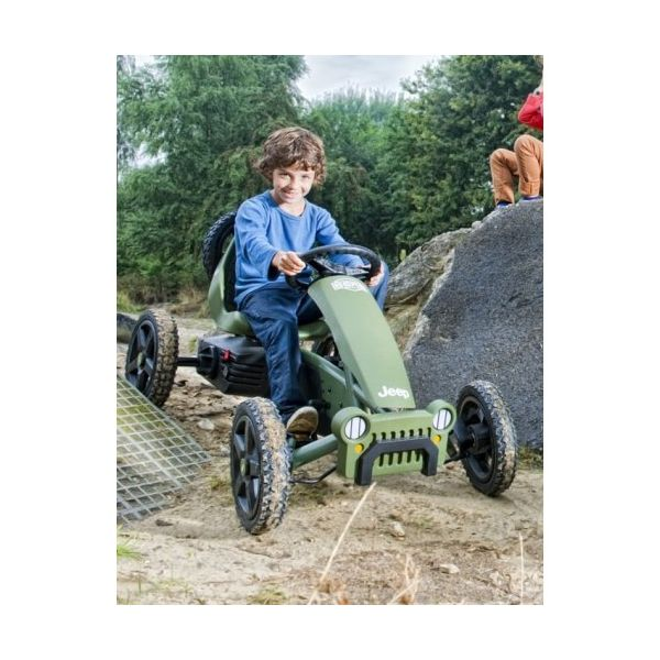 Jeep Karts a pedais Adventure Pedal-Gokart