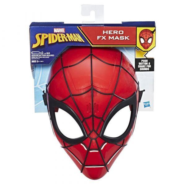 Hasbro Spider-Man - Máscara Eletrónica Spider-Man - E0619757