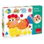 Goula Jogo Educativo Animal Stickers Foam - 53149