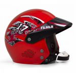 Feber Capacete Racing Red - F3101