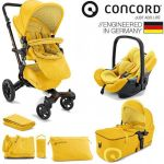 Conjunto Trio Concord Neo Travel Set Yellow Limited Edition