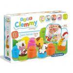 Clementoni Baby Clemmy Sweet Animais Quinta + Livro - 17174