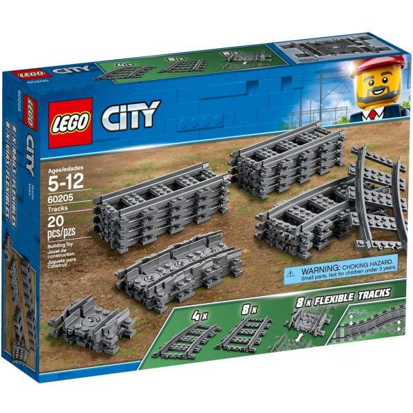 LEGO City - Trilhos Comboio - 60205