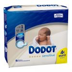 Dodot Fraldas Sensitive T1 2-5Kg x28