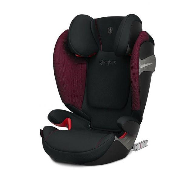 Cybex Cadeira Auto Solution S-Fix Isofix 2-3 Victory Black Ferrari