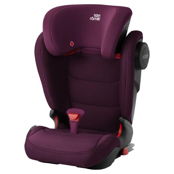 Britax Romer Cadeira Auto Kidfix III M Isofix 2-3 Burgundy Red