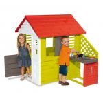 Smoby Casa Nature com Cozinha de Verão - SB810702