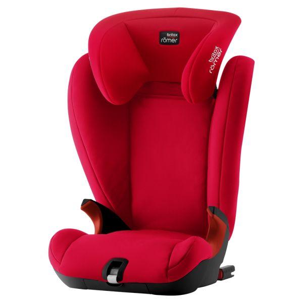 Britax Römer Cadeira Auto KidFix SL Isofix 2-3 Black Series - Fire Red
