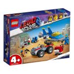 LEGO The Movie 2 - Emmet and Benny's 'Build and Fix' Workshop! - 70821