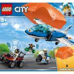 LEGO City - Polícia Aérea Detenção de Paraquedas - 60208