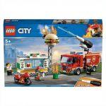 LEGO City - Combate ao Fogo no Bar de Hambúrgueres - 60214