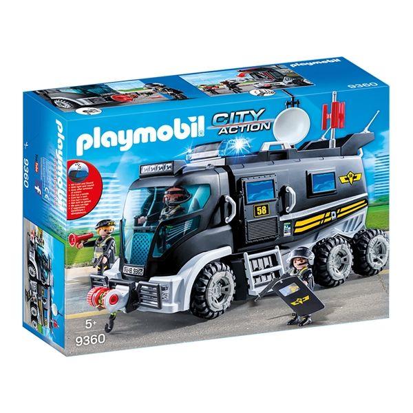 Playmobil City Action - Camião da Polícia com Luzes LED - 9360