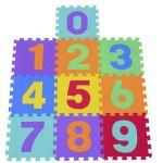 Aosom Tapete Puzzle de Espuma Eva 3 Anos