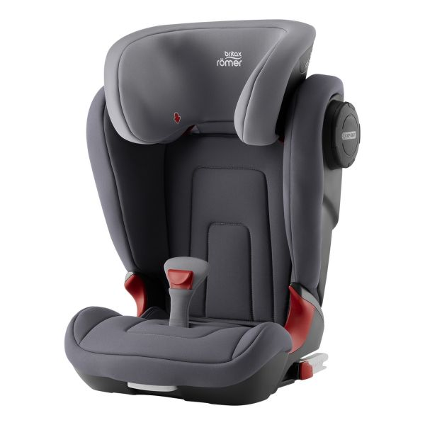 Britax Romer Cadeira Auto Kidfix2 S Car Seat/Booster Storm Grey