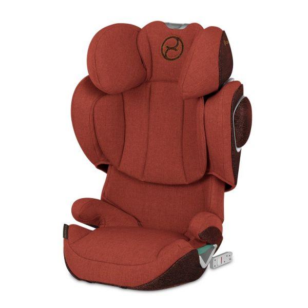Cybex Cadeira Auto Solution Z-Fix Plus Isofix 2-3 Autumn Gold