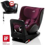 Britax Römer Cadeira Auto Dualfix i-Size 0-1 Burgundy Red
