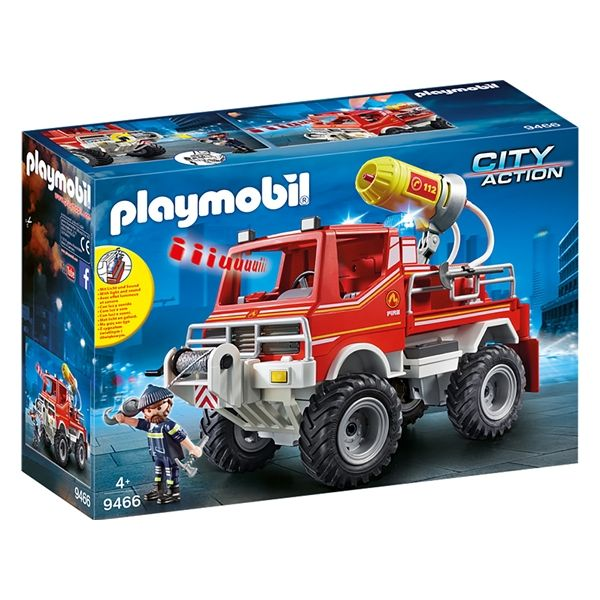 Playmobil City Action Todo-o-terreno bombeiros - 9466