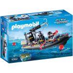 Playmobil City Action Lancha Fuerzas Especiales - 9362
