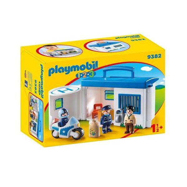 Playmobil 1.2.3 Comisaría de Policía - 9382