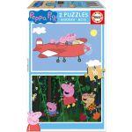 Educa Peppa Pig Puzzle 2x16 Peças - 17157