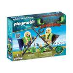 Playmobil Dragons - Brutesco e Brutália com Flight Suit - 70042