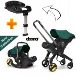 Doona Cadeira Auto Plus 2 em 1 Racing Green + Base Isofix