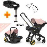 Doona Cadeira Auto Plus 2 em 1 Blush Pink + Base Isofix