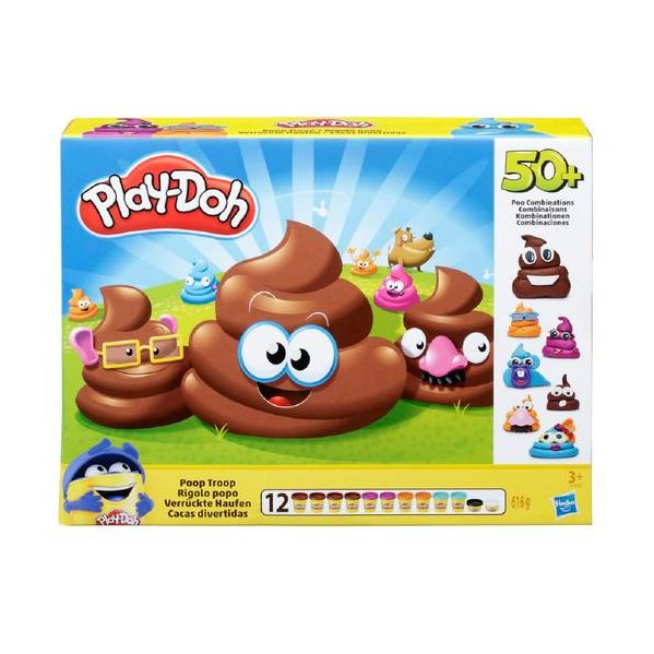 Play-Doh Pote Cocós Divertidos - Prenda Natal