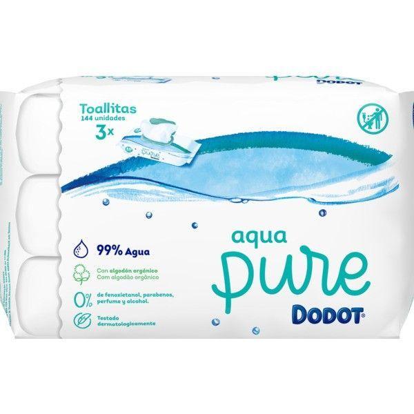 Dodot Aqua Pure Toalhitas 3x48 Unidades